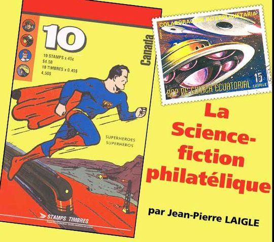 La Science-fiction philatélique, par Jean-Pierre LAIGLE
